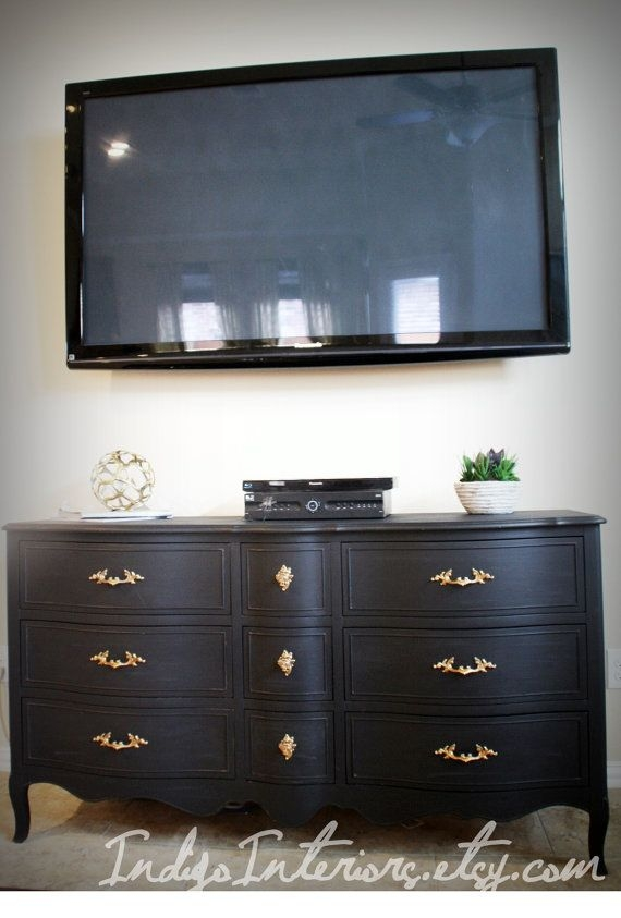 Awesome Well Known Dresser And TV Stands Combination Inside Best 25 Dresser Tv Stand Ideas On Pinterest Furniture Redo Diy (View 41 of 50)