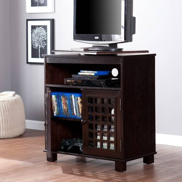 Awesome Wellknown Expresso TV Stands In Harper Blvd Narita Espresso Swivel Top Tv Stand Free Shipping (View 42 of 50)