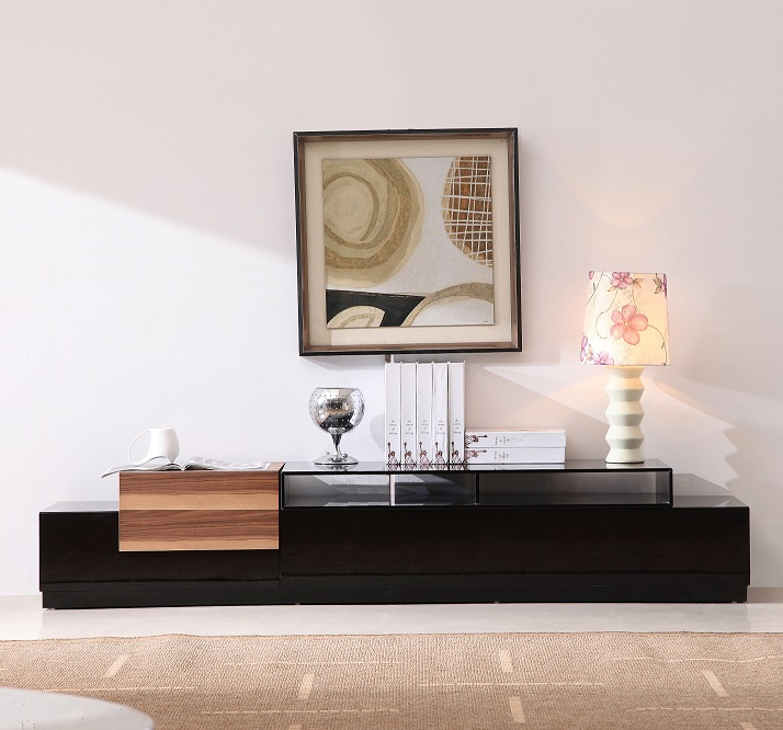Awesome Wellknown Gloss TV Stands For Jm Furniture Tv Stand 072 In Black High Gloss Walnut Beyond (Image 13 of 50)
