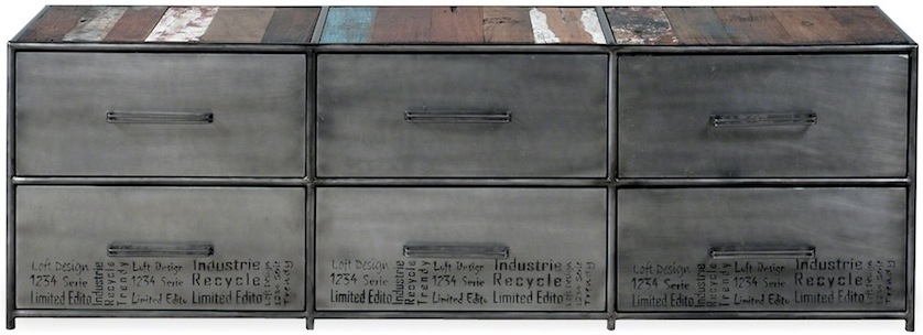 Awesome Wellknown Industrial Metal TV Stands Inside Brooklyn Finest Industrial Metal Tv Stand Tv Media Units (Image 7 of 50)