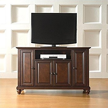 Awesome Wellknown Mahogany TV Stands Throughout Amazon Crosley Furniture Cambridge 48 Inch Tv Stand Vintage (Image 11 of 50)
