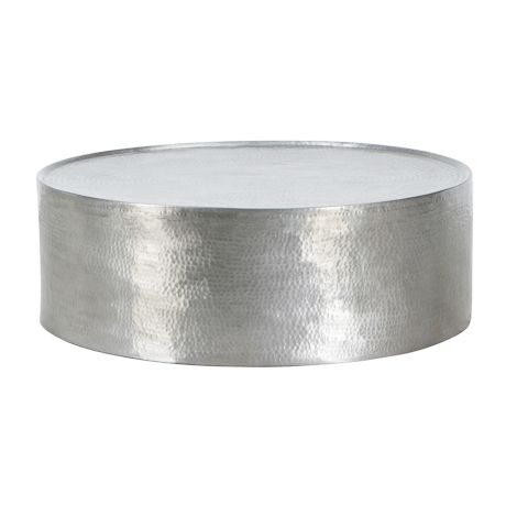 Awesome Wellknown Metal Round Coffee Tables Regarding Round Industrial Coffee Table (Image 9 of 50)