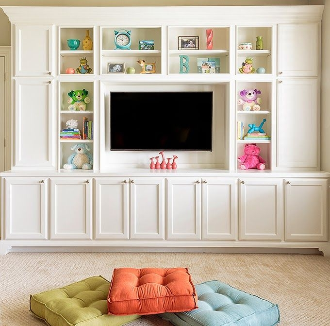 Awesome Wellknown Playroom TV Stands With Regard To Best 25 Kids Tv Rooms Ideas Only On Pinterest Playroom Storage (Image 6 of 50)