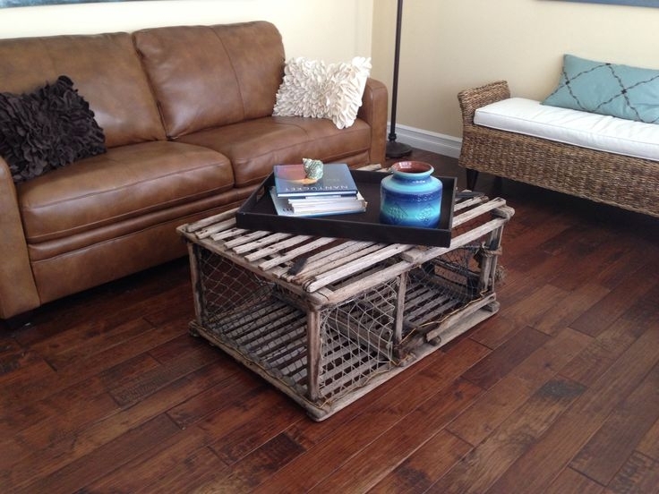 Awesome Wellknown Quirky Coffee Tables Regarding 9 Best Lobster Trap Table Images On Pinterest (View 44 of 50)