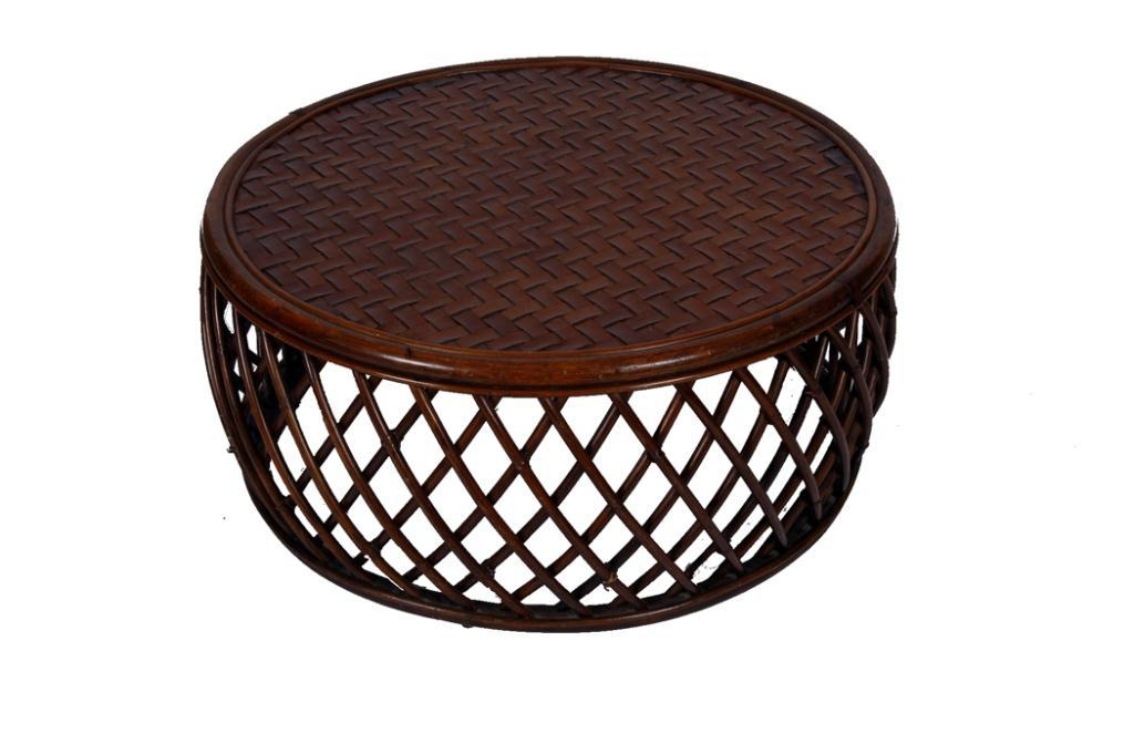 Awesome Well Known Round Woven Coffee Tables Intended For Woven Coffee Table (Image 9 of 50)