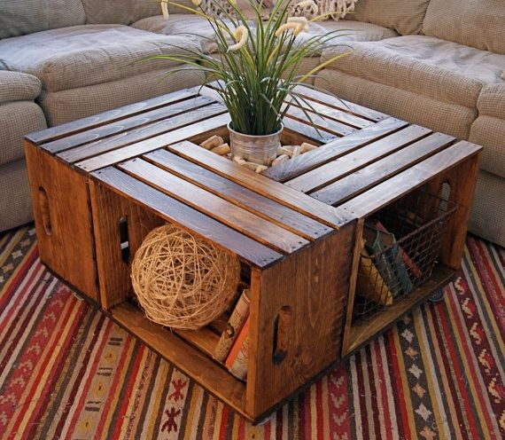 Awesome Well Known Rustic Storage DIY Coffee Tables Throughout Best 10 Coffee Table Storage Ideas On Pinterest Coffee Table (Image 8 of 50)