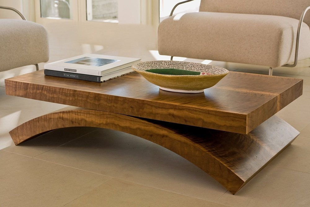 Awesome Well Known Solid Wood Coffee Tables With Massive Solid Wood Coffee Table The Best Wood Furniture (Image 11 of 50)