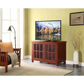 Awesome Well Known Square TV Stands Within Amazon Better Homes And Gardens Oxford Square Tv Stand And (View 31 of 50)