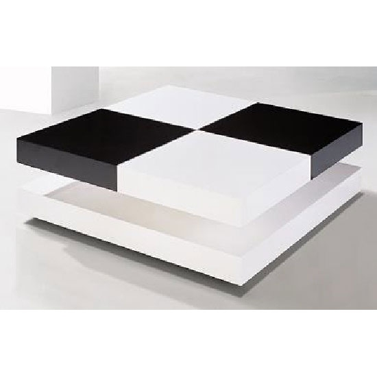 Awesome Wellknown Square White Coffee Tables Throughout Best Black Lacquer Coffee Table Ideas (View 45 of 50)