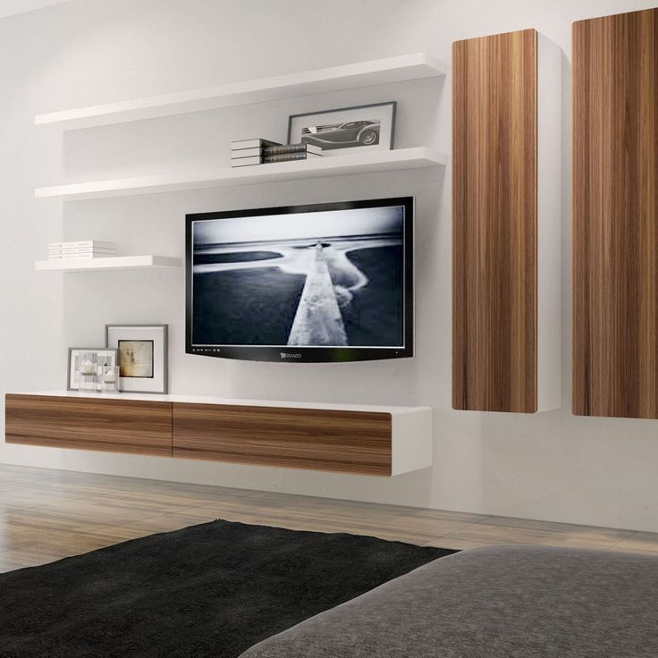 Awesome Well Known Wall Display Units & TV Cabinets Throughout Best 20 Tv Wall Cabinets Ideas On Pinterest White Entertainment (Image 11 of 50)
