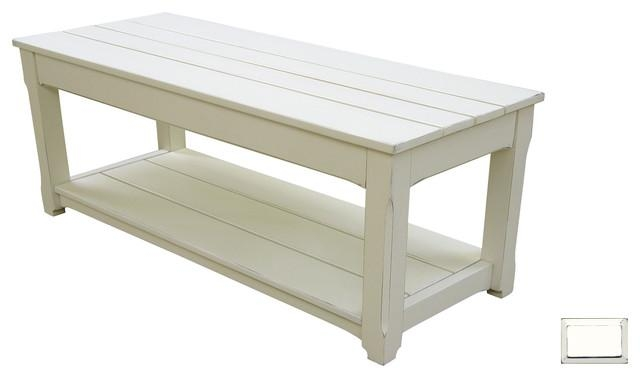 Awesome Well Known White Cottage Style Coffee Tables Pertaining To Off White Cottage Style Coffee Table See Here Coffee Tables Ideas (Image 15 of 50)