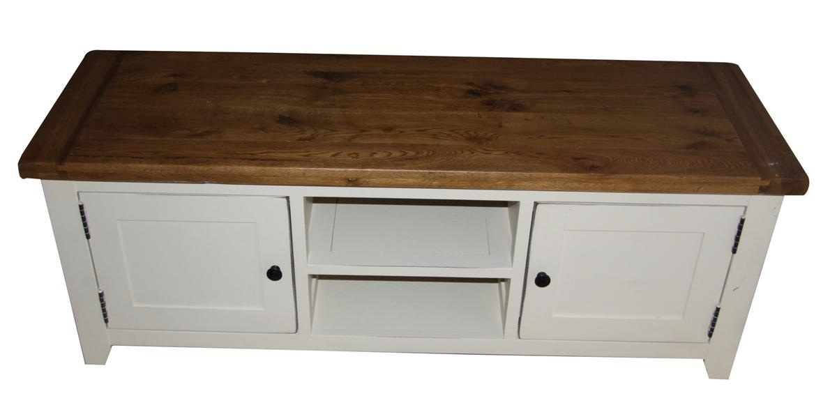 Awesome Well Known White Wood TV Cabinets Pertaining To Fresh Stunning Oak Tv Stand Argos  (Image 8 of 50)