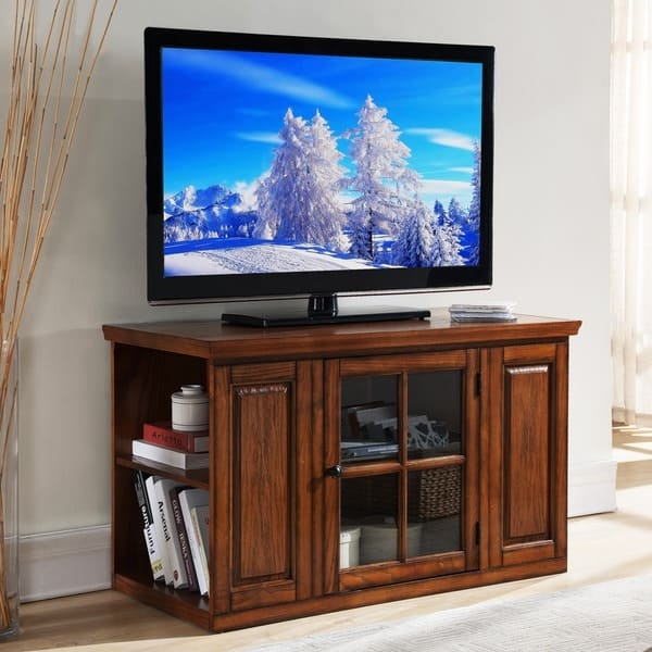 Awesome Wellliked Oak TV Stands For Flat Screens Within Oak 42 Inch Bookcase Tv Stand Media Console Free Shipping (Image 13 of 50)