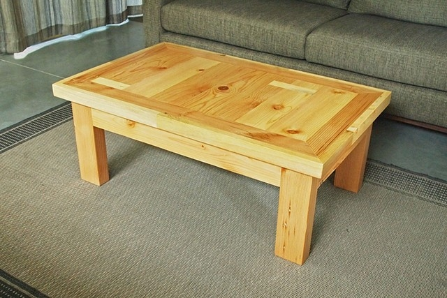 Awesome Wellliked Old Pine Coffee Tables Inside Coffee Table Sample Of Building Your Own Coffee Table Diy Coffee (Image 8 of 50)