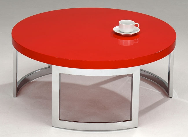 Featured Image of Red Round Coffee Tables