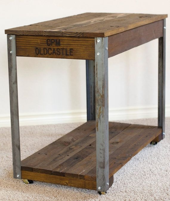 Awesome Wellliked Rustic Wood DIY Coffee Tables Within Best 20 Industrial Coffee Tables Ideas On Pinterest Coffee (Image 10 of 50)