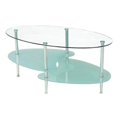 Awesome Wellliked Simple Glass Coffee Tables Regarding Coffee Table Oval Glass Coffee Table Furniture Inspiration Ideas (Image 6 of 40)