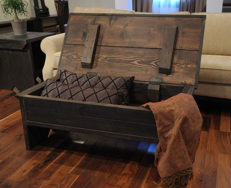 Awesome Wellliked Storage Trunk Coffee Tables Regarding Best 25 Coffee Table With Storage Ideas Only On Pinterest (Image 9 of 50)