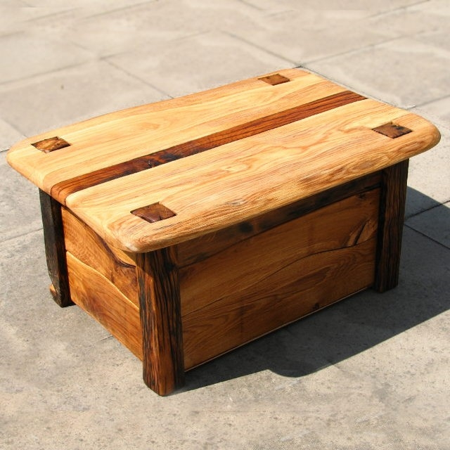 Awesome Widely Used Blanket Box Coffee Tables Within Box Coffee Table Rustic Coffee Tables Sierra Living Concepts (Image 8 of 50)