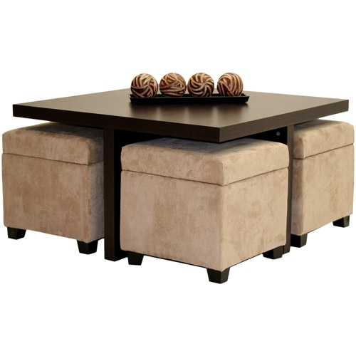 Awesome Widely Used Brown Leather Ottoman Coffee Tables With Storages Intended For Coffee Table Upholstered Ottoman Storage Coffee Table Leather (Image 7 of 40)