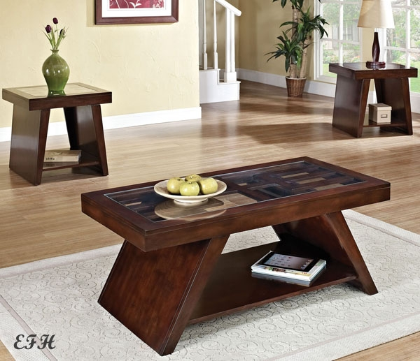 Awesome Widely Used Cherry Wood Coffee Table Sets Throughout Cherry Wood End Tables Living Room Cherry End Tables Living Room (Image 11 of 50)