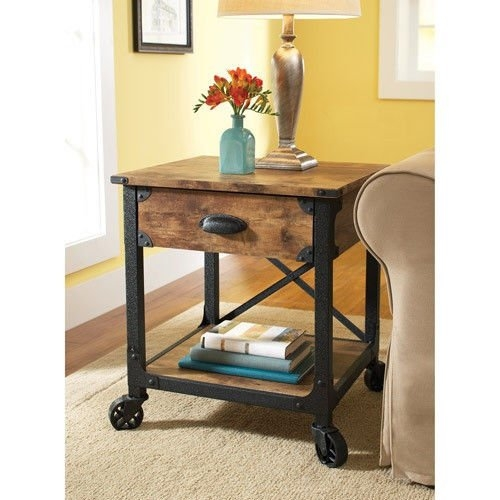Awesome Widely Used Country Coffee Tables Regarding Amazon Rustic Furniture This Rustic Pine Antiqued Furniture (Image 9 of 50)
