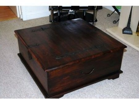 Awesome Widely Used Dark Wood Chest Coffee Tables With Regard To Dark Wood Coffee Table Chest Coffee Addicts Dark Wood Chest (Image 5 of 50)