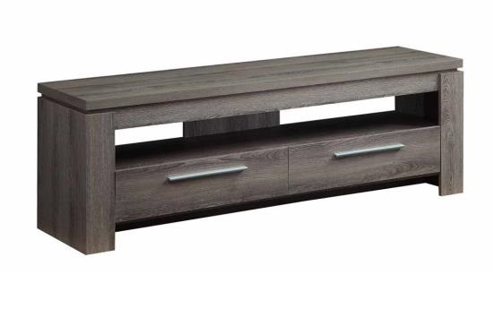Awesome Widely Used Grey TV Stands Pertaining To Weathered Grey Tv Stand 701979 Coaster (Image 11 of 50)