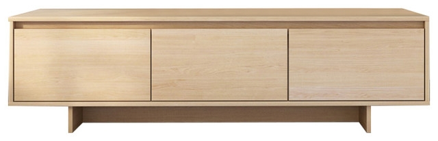 Awesome Widely Used Maple TV Stands For Rustik Tv Stand Natural Maple Contemporary Entertainment (View 45 of 50)