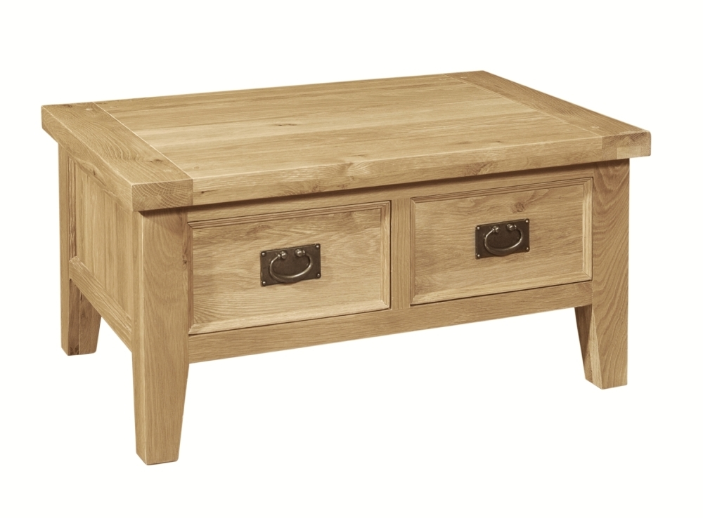 Awesome Widely Used Oak Coffee Table Sets Intended For Small Coffee Tables (Image 12 of 50)
