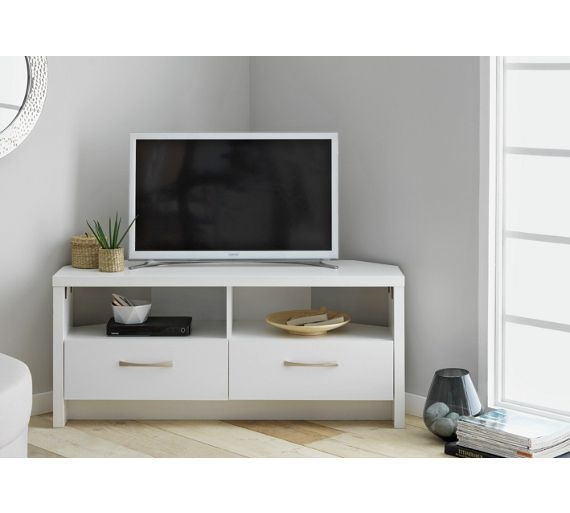 Awesome Widely Used Off White Corner TV Stands In 54 Best Tv Stand Images On Pinterest Tv Units Corner Tv Stands (Image 15 of 50)