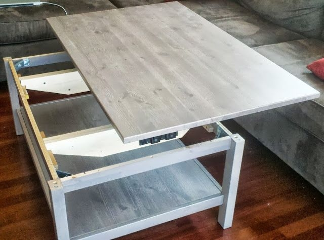Awesome Widely Used Raise Up Coffee Tables Pertaining To Top 25 Best Lift Top Coffee Table Ideas On Pinterest Used (View 24 of 40)