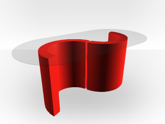 Awesome Widely Used Red Gloss Coffee Tables For Red Gloss Coffee Table Monaco Free Uk Delivery Zespoke (Image 6 of 40)