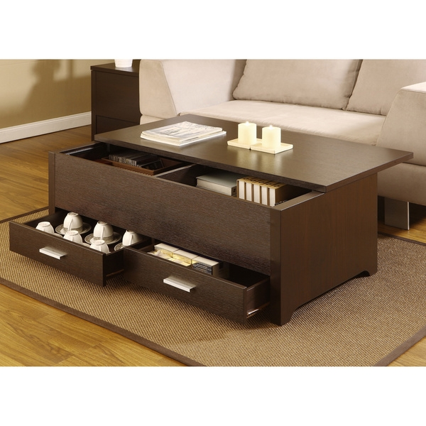 Awesome Widely Used Storage Coffee Tables Throughout Coffee Table Great Coffee Table Sets With Storage Ideas Square (View 39 of 50)