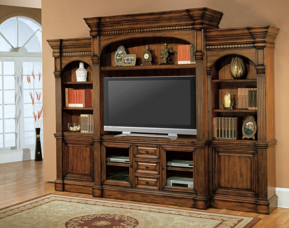Awesome Widely Used Traditional TV Cabinets With Traditional Large Enclosed Tv Cabinets For Flat Screens With Doors (Image 8 of 50)