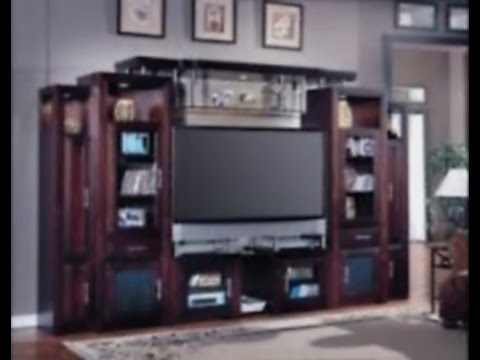 Awesome Widely Used TV Stands Bookshelf Combo Intended For Bookcase Design And Modern Solid Wood Tv Stand Youtube (Image 11 of 50)