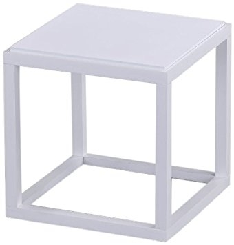 Awesome Widely Used White Cube Coffee Tables Pertaining To Amazon Roundhill Furniture Wood Stackable Display Cube (View 9 of 40)
