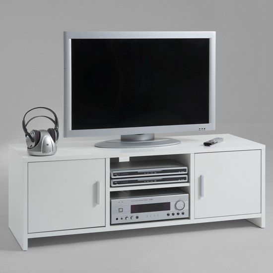 Awesome Widely Used White TV Stands For Flat Screens In 138 Best Tv Stands Images On Pinterest Tv Stands Tv Consoles (Image 15 of 50)