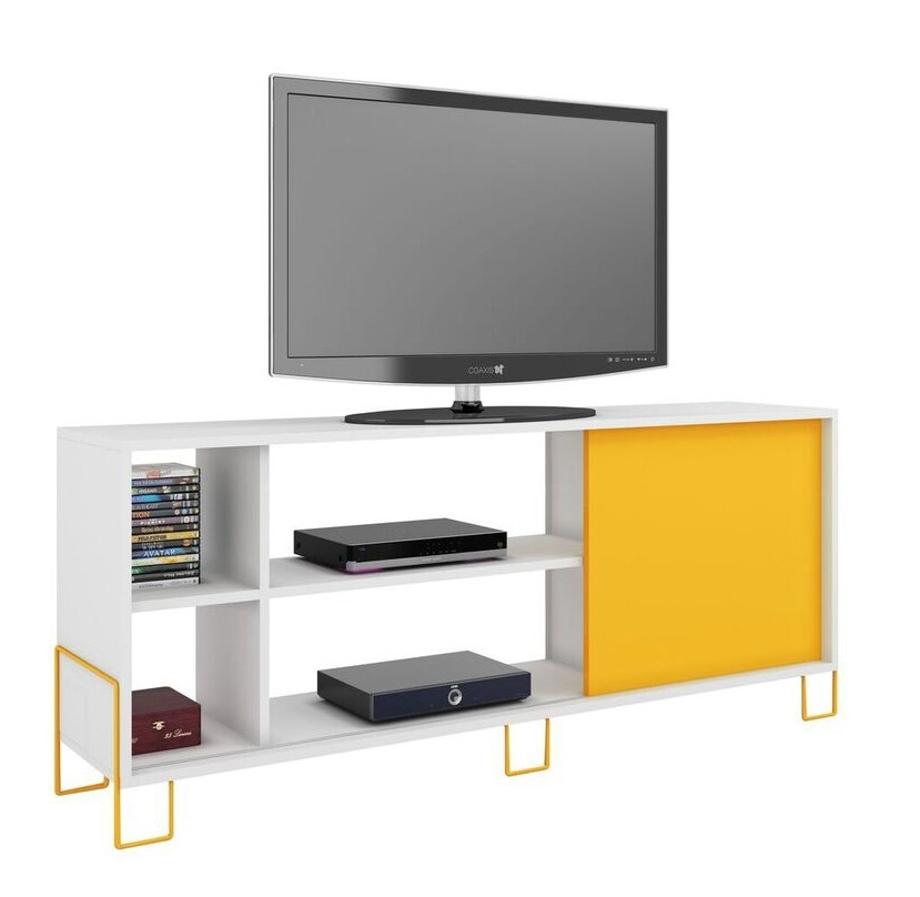 Awesome Widely Used Yellow TV Stands IKEA With Regard To Ikea Yellow Tv Stand Home Design Ideas (Image 9 of 50)