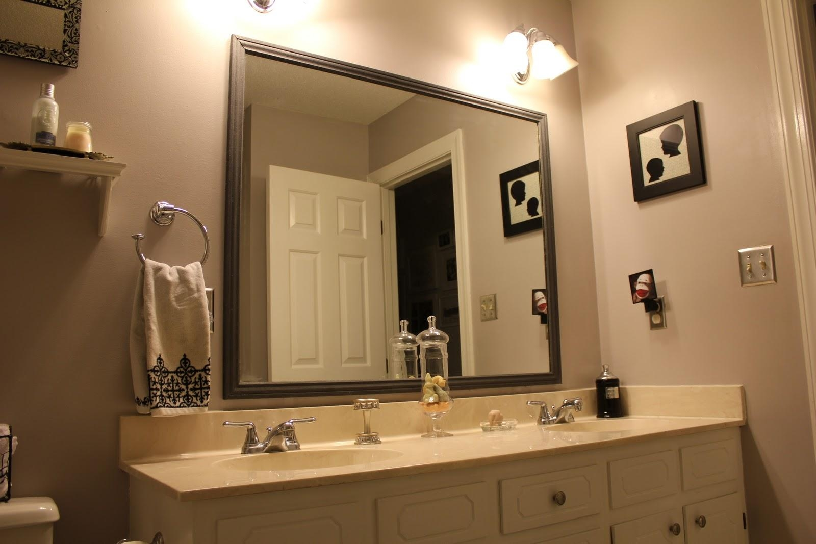Awesome Wrought Iron Framed Bathroom Mirrors 42 About Remodel With Throughout Wrought Iron Bathroom Mirrors (Image 4 of 20)
