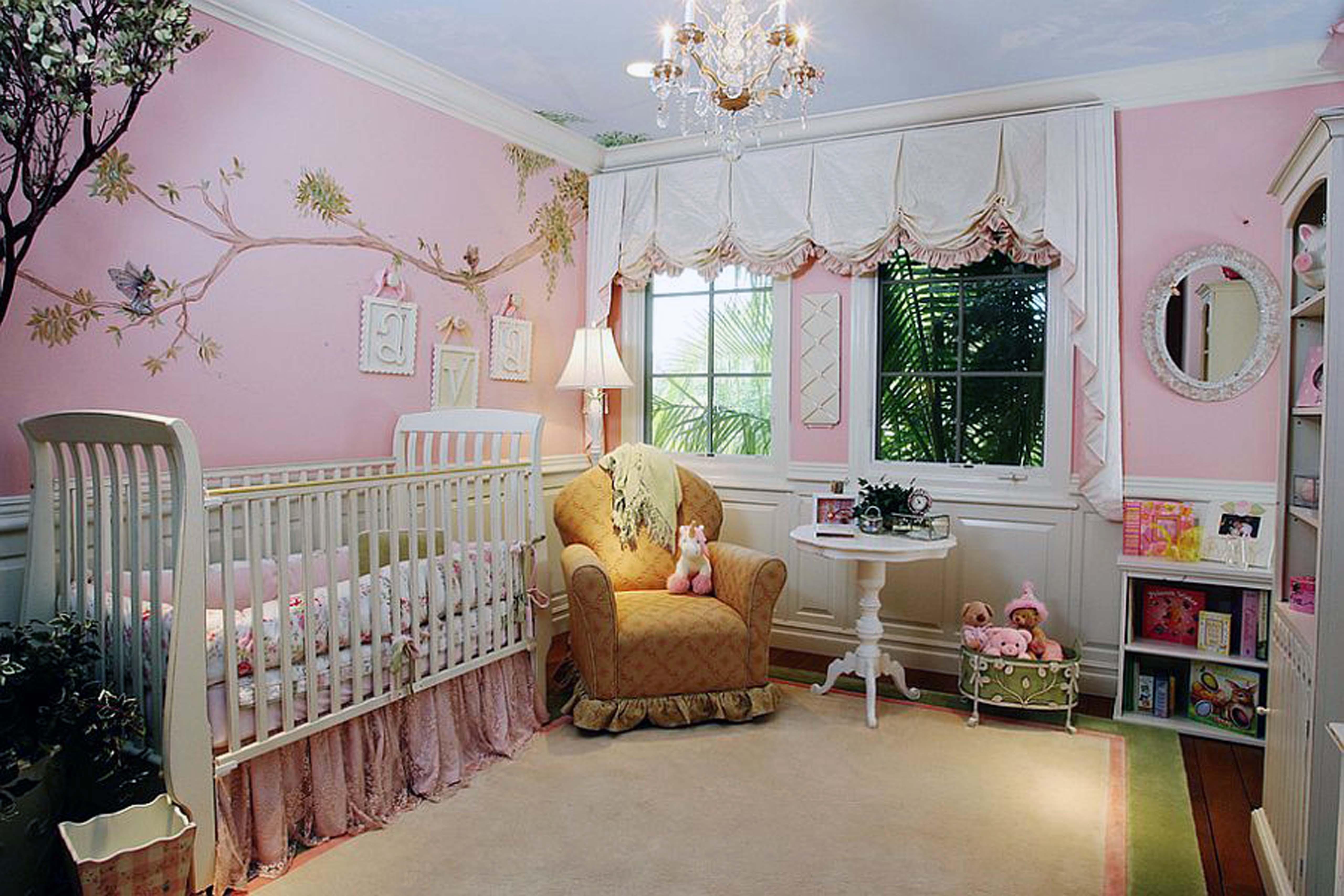 Ba Nursery Simple Nursery Chandeliers For Ba Room Ceiling In Crystal Chandeliers For Baby Girl Room (Image 7 of 25)