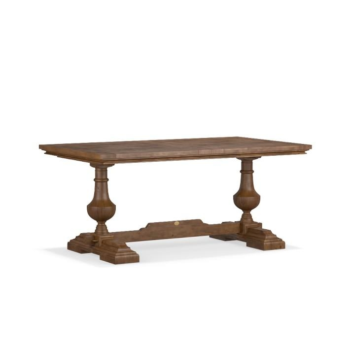 Balustrade Dining Table, Rectangle | Williams Sonoma Intended For Cheap Reclaimed Wood Dining Tables (View 15 of 20)