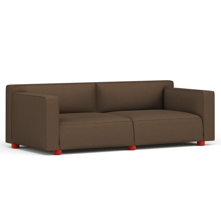 Barber Osgerby Three Seater Sofa | Knoll With Regard To Knoll Sofas (Image 5 of 20)