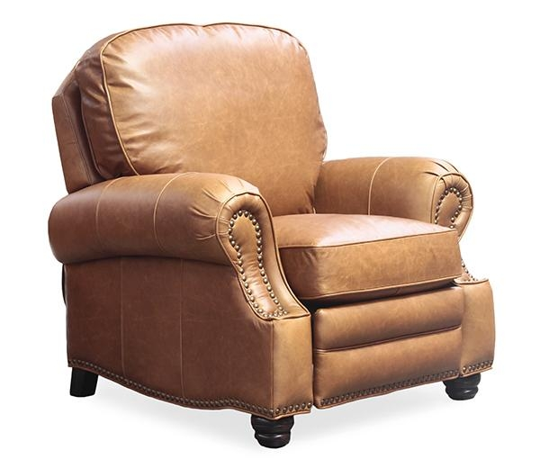 Barcalounger Longhorn Ii Leather Recliner Chair – Leather Recliner With Barcalounger Sofas (View 8 of 20)