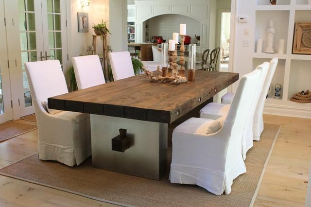 Barn Wood Dining Table Rustic Furniture New York Jr Distressed Regarding New York Dining Tables (Image 1 of 20)