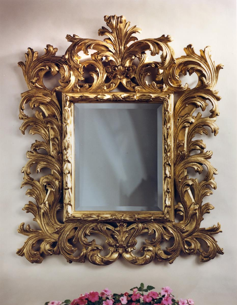 Baroque Mirror | Carvers' Guild Inside Large Baroque Mirror (Image 3 of 20)