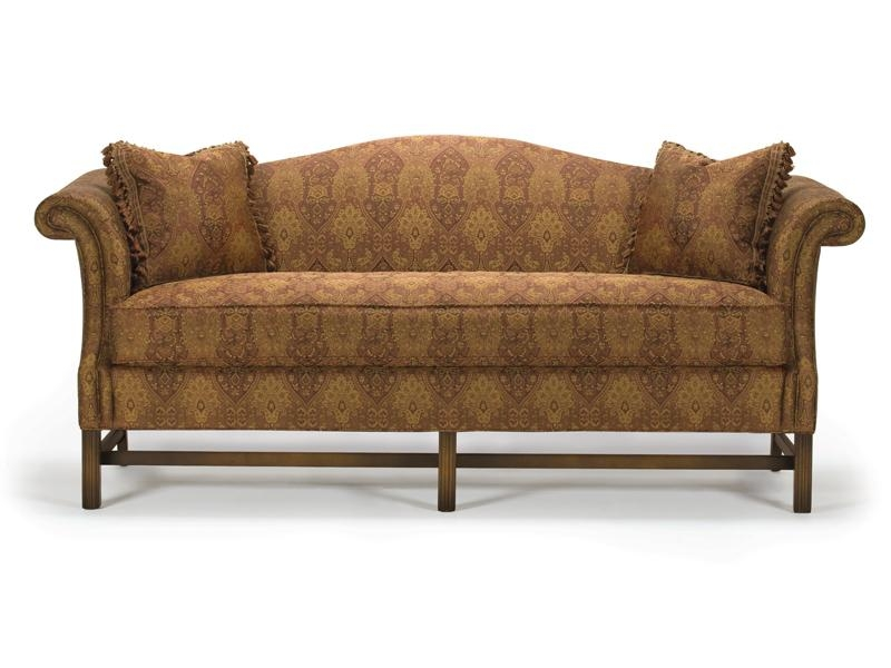Barrymore Furniture – Chippendale Camelback Sofa With Regard To Chippendale Camelback Sofas (Image 10 of 20)