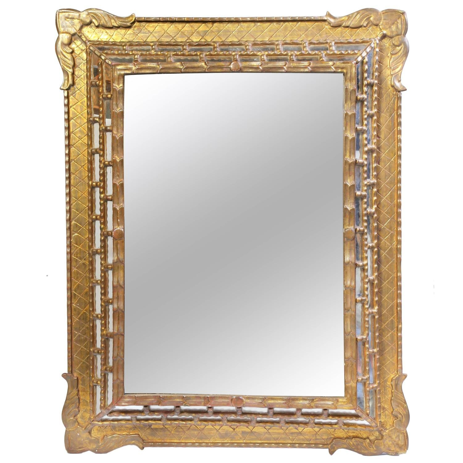 Bathroom: Astounding Baroque Mirror With Unique Frame For Bathroom Intended For Gothic Style Mirror (View 12 of 20)