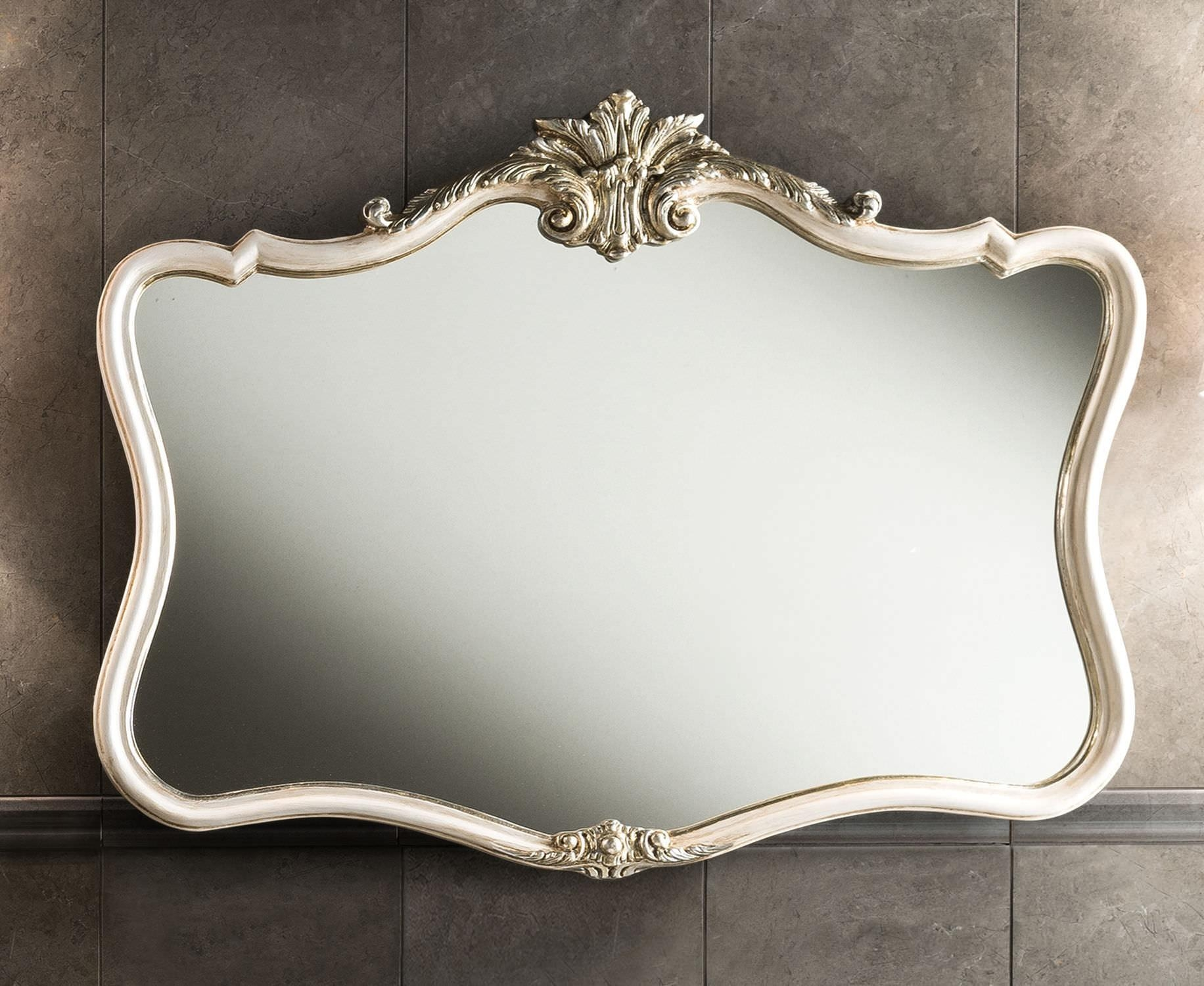 Bathroom: Baroque Wall Mirror With Unique Baroque Mirror Design Intended For Baroque Wall Mirror (View 5 of 20)