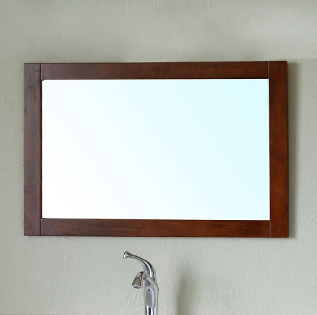 Bathroom: Beveled Glass Framed Bathroom Mirrors – Bathroom Mirrors Intended For Bathroom Mirrors Vintage (Image 3 of 20)